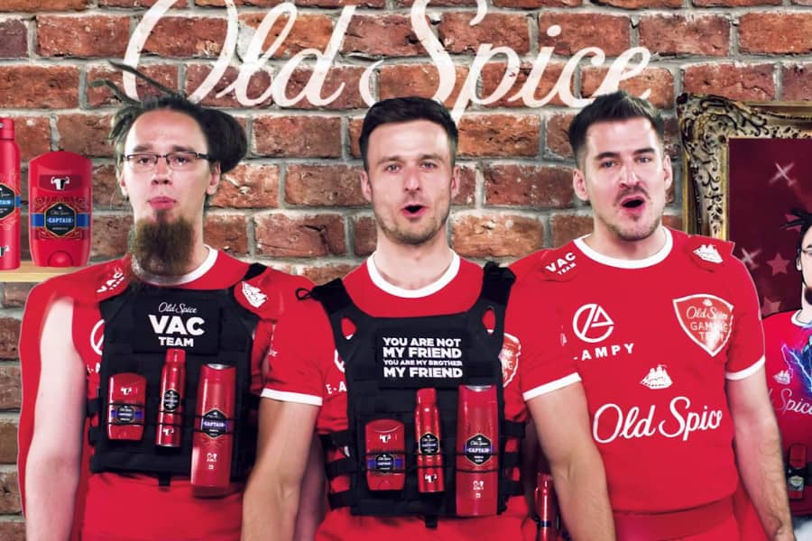 CSGO Legend PashaBiceps Features In Bizarre Old Spice Commercial