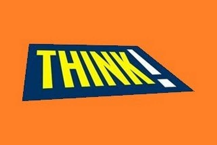 The Road Safety Campaign 'Think!'