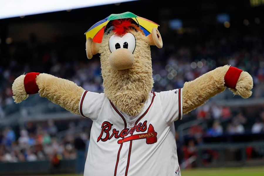 Atlanta Braves Mascot Dresses Up As Dr DisRespect