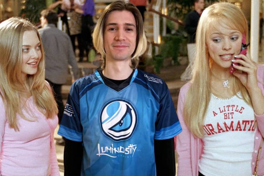 xQc's Cameo In Mean Girls